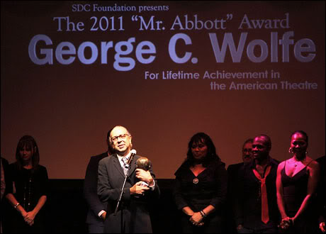 George C. Wolfe  SDC Foundation honors George C. Wolfe with the 2011 'Mr. Abbott' award for lifetime achievement in the American theatre, held at the Edison Ballroom.   New York City, USA - 03.09.11